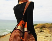 Pumpkin Velvet with Cinnamon Spice Gypsy Bag, Super Christmas Gift