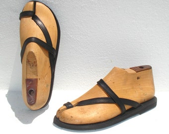 ANANIAS Roman Greek handmade leather sandals - NEW STYLE