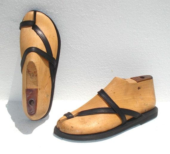 ANANIAS Roman Greek handmade leather sandals - NEW STYLE