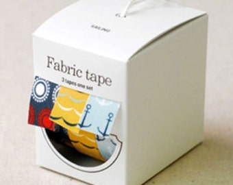 Nuage Fabric Masking Tape - Sailing - Set 3