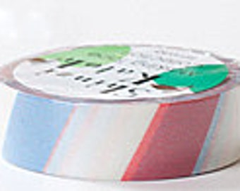 Shinzi Katoh Masking Tape - Tricolore Stripes