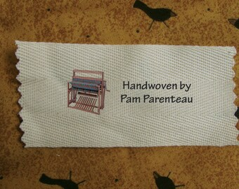 Personalized Weaving labels-Loom