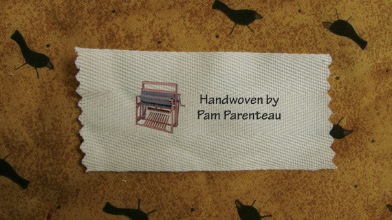 Personalized Weaving Labels Loom