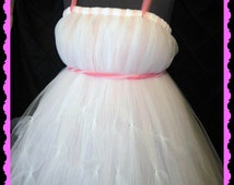 Pretty in Pink Tutu Dress, adult tutu dress, Pettie Tutu,Plus Size Tutu Dress,Ready to Ship all sizes and ages welcome and you can CUSTOMIZE
