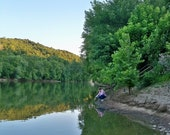 The Kentucky River at Valley View - Photographic Print