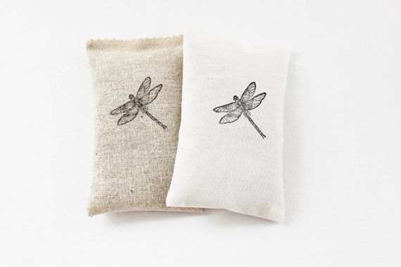 Dragonfly Lavender Sachets, Scented Drawer Sachets, Home Decor, House Decorations
