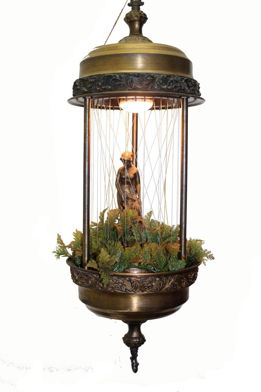 Hanging Goddess Rain Lamp