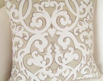Decorative Throw Pillow Cover Neutral Pillow Cushion Accent Pillow Beige Toss Pillow
