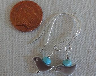 Tweetie in Turquoise Earrings