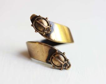 Sample Sale - Ladybug Twist Ring