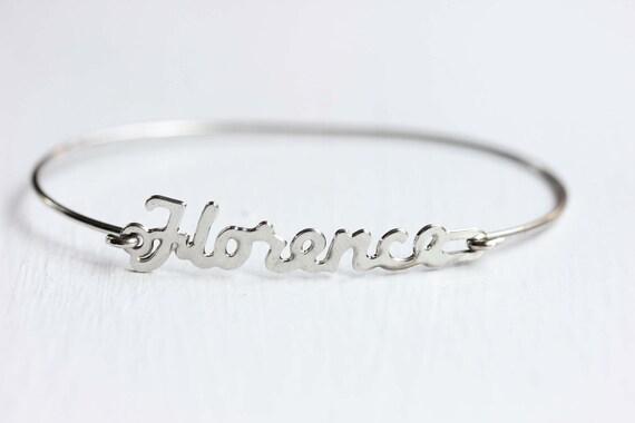 Vintage Name Bracelet - Florence