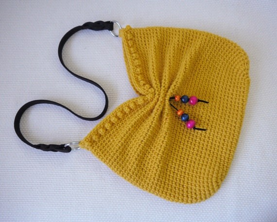 Crochet Hobo Bag Pattern : All Bags & Purses