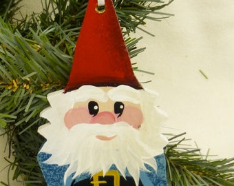 GARDEN GNOME  Ornament with Name   personalized just for you