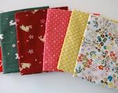 Destash - Asssorted  fabric FQs