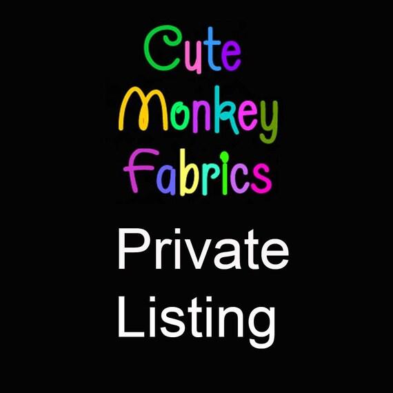 Custom Listing for Vanessa