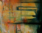 Parallel Room, original abstract painting