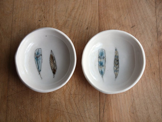 small salt and or pepper bowl. a pair. no 9