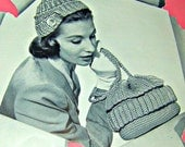 Vintage Crochet hats and Bags Patterns direct checkout Black Friday Etsy - Lusmysticjewels