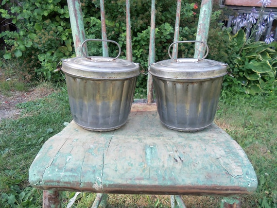 Vintage Made In West Germany Covered Metal Tube Cake Pans from Rustysecrets