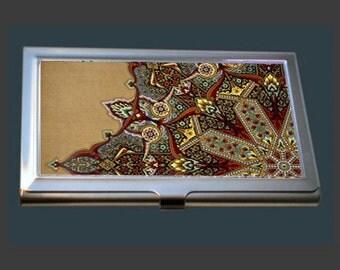 Business Card Case - Vintage Oriental Design by Christopher Dresser