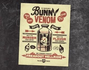 "PRINT // Bunny Venom // ""Prepocerous"""