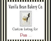 Custom Listing for Pam