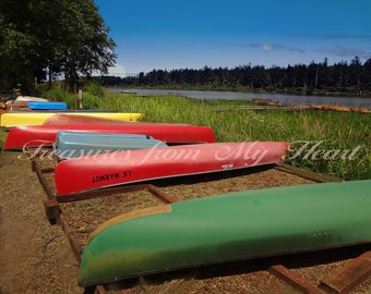 Colorful Canoes 1