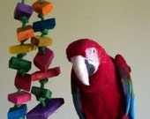 Sarge's Little Chews Large Bird Toy Wood Toy