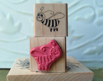 Harry the Bee rubber stamp from oldislandstamps