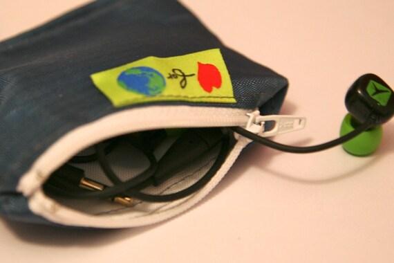 Mini Earbud earphone storage bag