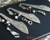 Fifty Shades of Grey Set of Three Charmed Book Marks