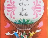 Three Cheers For Books...  Adorable original vintage Book Week poster from 1963