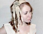Tattered Headband Rag Doll Shipwreck Rose