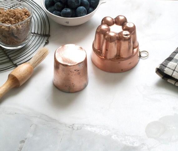 vintage copper mold