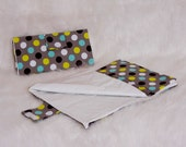 SALE // Newborn Baby // Modern Dot Diaper Changing Pad // Baby Changing Pad // Washable Vinyl Pad // Travel Diaper Pad