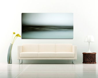 The Sea Breaths.  Fine Art Photograph. Abstract Landscape. Zen. Minimalist Photo.