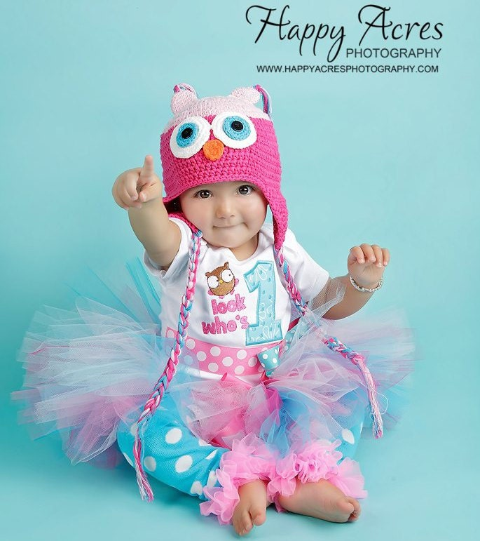 Items Similar To First Birthday Girl Outfit, Owl, Hoot
