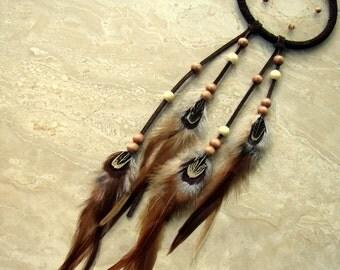 Dream Catcher - Native American Dream Catcher, Feathered Dreamcatcher - Dreamweaver
