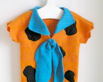 Fred Flintstone Toddler Costume with Big Blue Tie