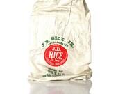 Vintage J.B. Rice Jr Seed Bag