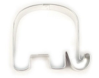 Small Republican Elephant or baby shower cookie cutter Made In USA primitive elephant