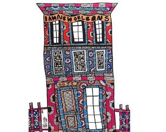 NOLA Townhouse PRINT multiple sizes available