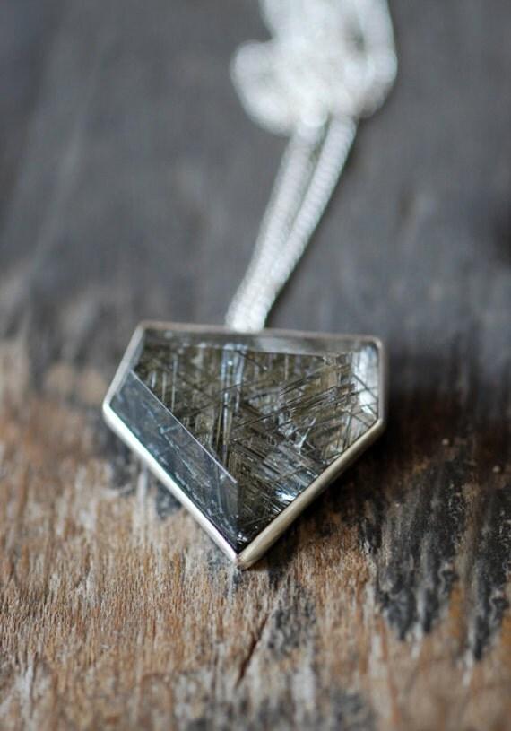 Mossy Needle Pendant