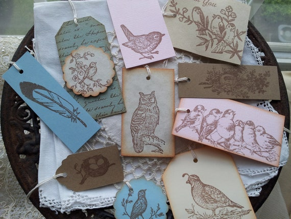 Wing and Things Bird Collection of 10 Tags