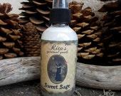 Rita's Sweet Sage Spiritual Mist Spray - Access Your Innate Wisdom, Divination, Abundance, Protection