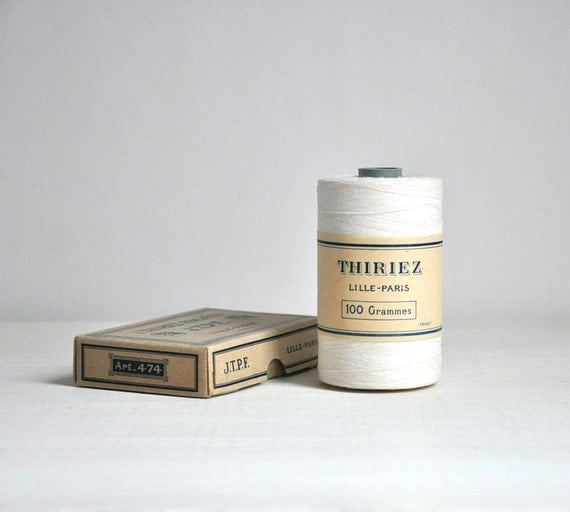 spool of vintage french thread