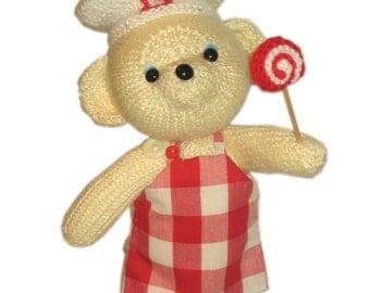 Sweetest Bombon Bear PDF Email Knit PATTERN