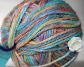 A Knitty Rainbow Magic Yarn Ball - A Great Gift For A Knitter - Rainbow Wool/Acrylic Blend - Aran Weight