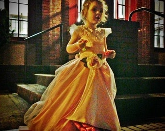 Phantom of the Opera Masquerade gown for CHILD, FIRST payment of three