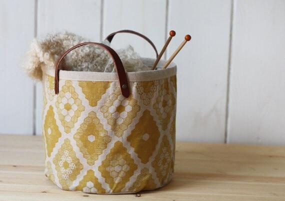 Yellow Honeycomb Bucket